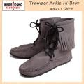 �����谷Ź MINNETONKA(�ߥͥȥ�)Tramper Ankle Hi Boot(�ȥ��ѡ� ����ϥ��֡���)#421T GREY ��ǥ����� MT024