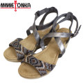 �����谷Ź MINNETONKA(�ߥͥȥ�) Emme(���ߡ� �������) PEWTER ��ǥ����� MT315