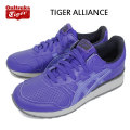 �����谷Ź Onitsuka Tiger(���˥ĥ���������) TH4B3L-4343 TIGAR ALLIACE(�����������饤����) �������֥롼x�������֥롼 OT136