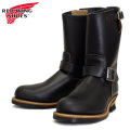 2014���� RED WING(��åɥ�����) 9268 Engineer Boots(���󥸥˥��֡���) �֥�å������������� ���