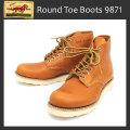 正規代理店 REDWING (レッドウィング) 9871 6inch CLASSIC ROUND TOE ブーツ ゴールドラセットセコイア