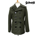 �����谷Ź SCHOTT(����å�) US PEA COAT 24oz(US�ԡ������� 24����) OLIVE ���꡼��
