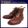 �����谷Ź Tricker's �ȥ�å����� 2508M COUNTRY BROGUE(����ȥ꡼�֥?��) ���֥�쥶�������� �ޥ�󥢥�ƥ����� TK011