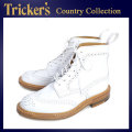 �����谷Ź Tricker's �ȥ�å����� 2508M COUNTRY BROGUE(����ȥ꡼�֥?��) ���֥�쥶�������� �ۥ磻�ȥ��˥�󥫡��� TK012