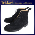 �����谷Ź Tricker's �ȥ�å����� 2508M COUNTRY BROGUE(����ȥ꡼�֥?��) ���֥�쥶�������� �֥�å���ڥ?������ TK013