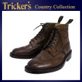 �����谷Ź Tricker's �ȥ�å����� 2508M COUNTRY BROGUE(����ȥ꡼�֥?��) ���֥�쥶�������� �����ҡ��С��˥å��� TK017