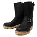 Wesco�������� �����ǥ����顼 Boss �ܥ� Black Leather, 10height, #100HoneySole, Nickel Buckles BS76