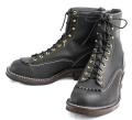 �����ǥ����顼 Wesco�������� Jobmaster����֥ޥ����� Black �֥�å�, Lace to Toe, 8height,#430sole Black Shoelace JM31