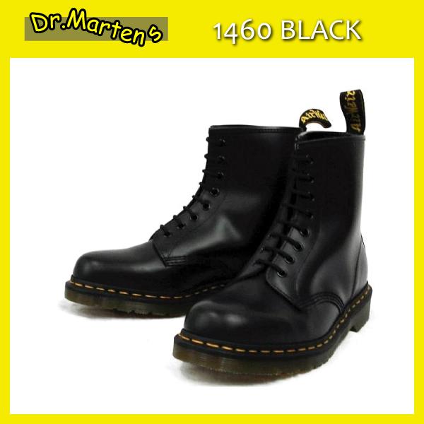 正規代理店 Dr.Martens ドクターマーチン 1460 8EYE BOOTS 8ホールブーツ BLACK ブラック
