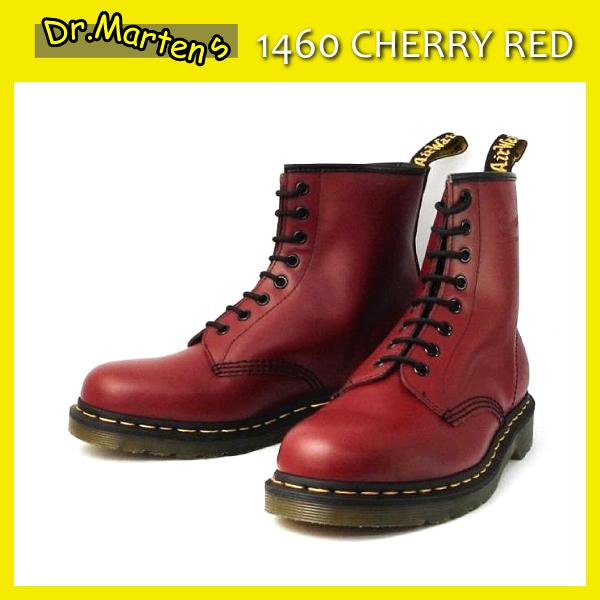 正規代理店 Dr.Martens ドクターマーチン 1460 8EYE BOOTS 8ホールブーツ CHERRY RED チェリーレッド