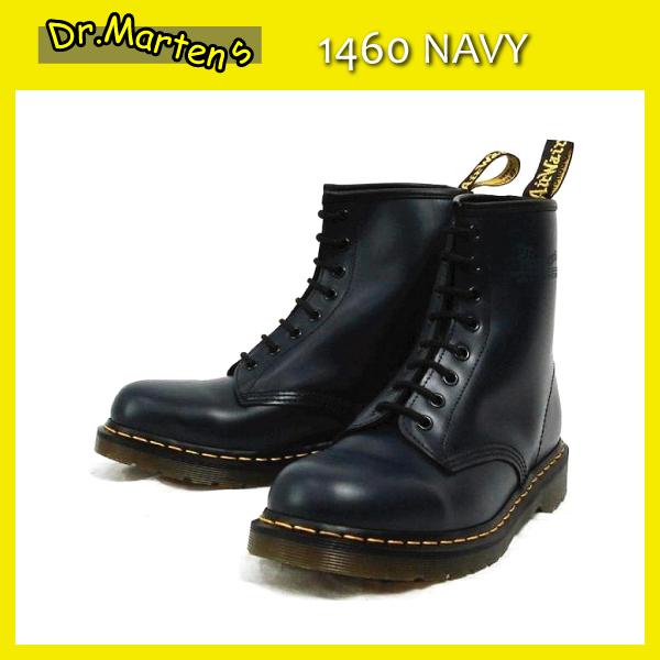 正規代理店 Dr.Martens ドクターマーチン 1460 8EYE BOOTS 8ホールブーツ NAVY ネイビー