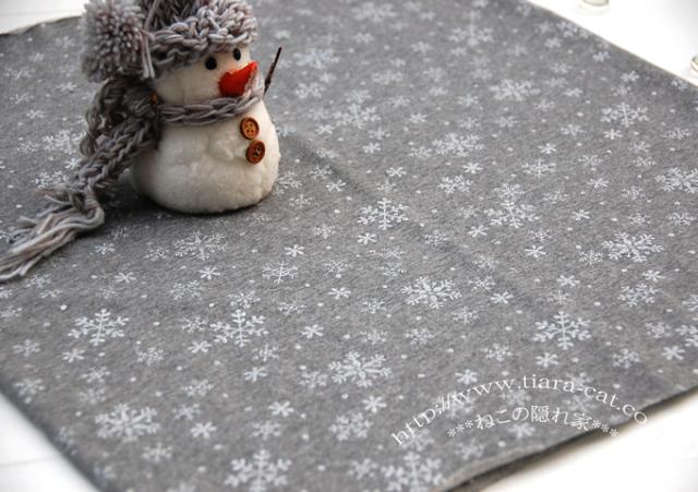 雪の結晶 ラメ雪