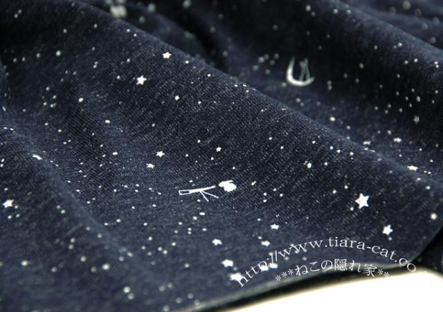 New望遠鏡 glitter デニム<起毛>