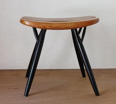 Ilmari Tapiovaara          Pirkka stool(ピルッカスツール)D/1960年代
