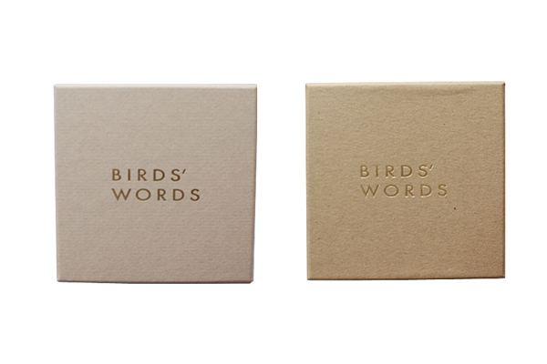 BIRDS' WORDS           ギフトボックス