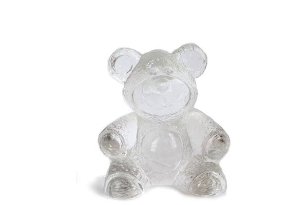 Lindshammar glasbruk            お座りクマ / ガラス製品