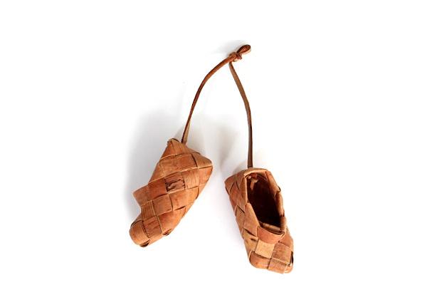 白樺のかご            アクセサリー靴  /  S8