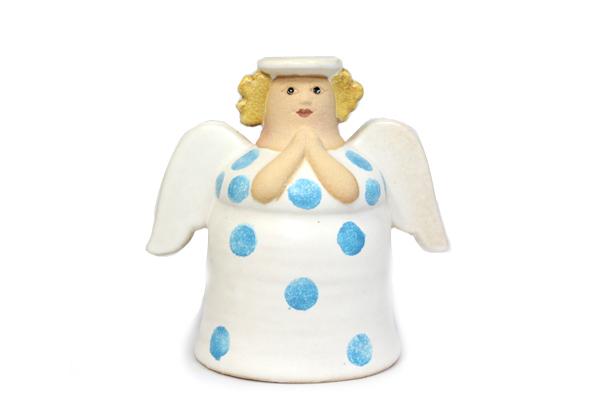 天使キャンドルホルダー/ホワイト A