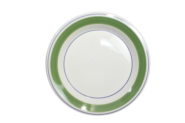 ARABIA クロッカス       プレート24cm(グリーン1)