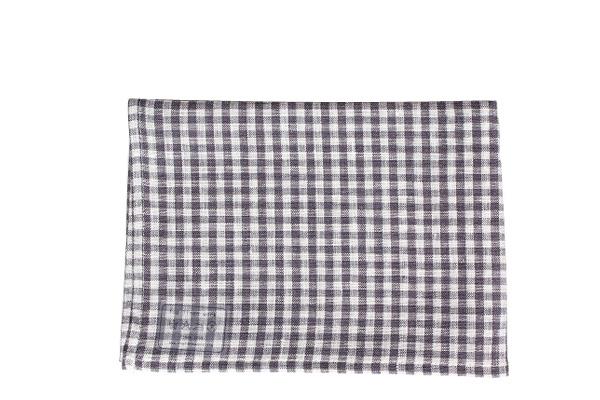 キッチンクロス グレーホワイトチェック / fog linen work