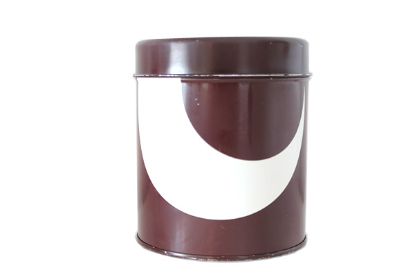 aarikka アーリッカ            缶 Lサイズ/ ブラウン