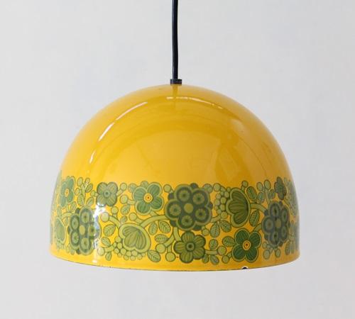 FINEL               琺瑯ランプ 21cm(イエロー)