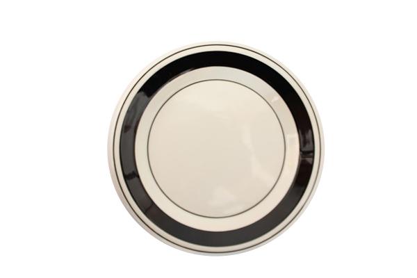 ARABIA Faenza            17cmプレート (ブラック3)