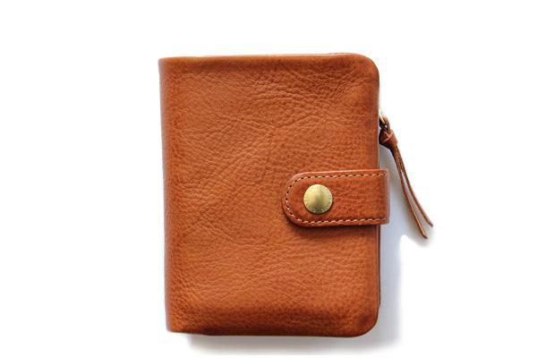 CINQ サンク              2つ折り財布(キャメル)