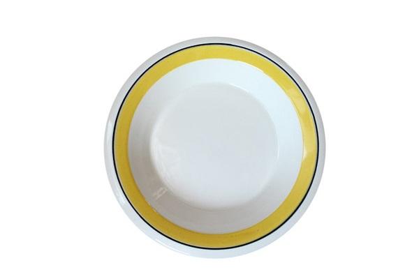 ARABIA Faenza            スーププレート20cm(イエローA2)