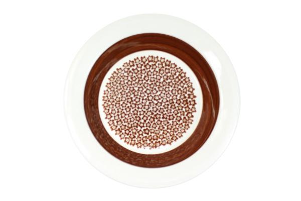 ARABIA Faenza            スーププレート20cm(ブラウン)