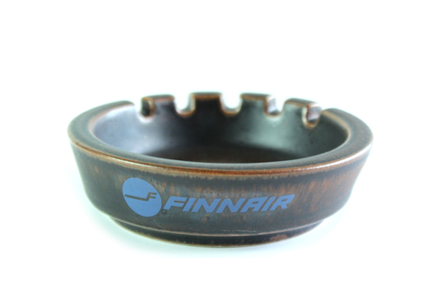 ARABIA ルスカ            Ashtray/Finnair
