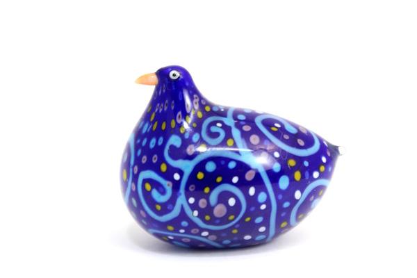 ガラスの鳥 ブルー系/ No.56