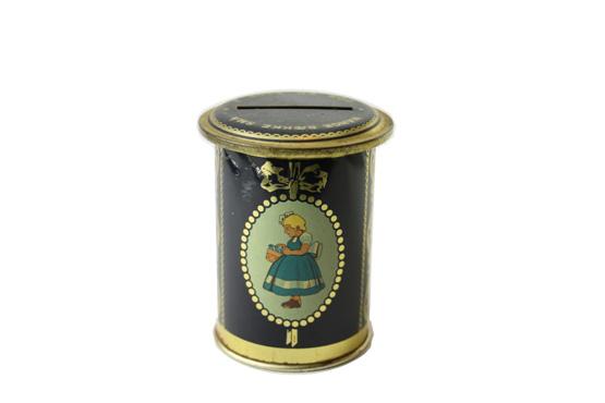 【イヤマ】Irma               ビンテージ缶 貯金箱