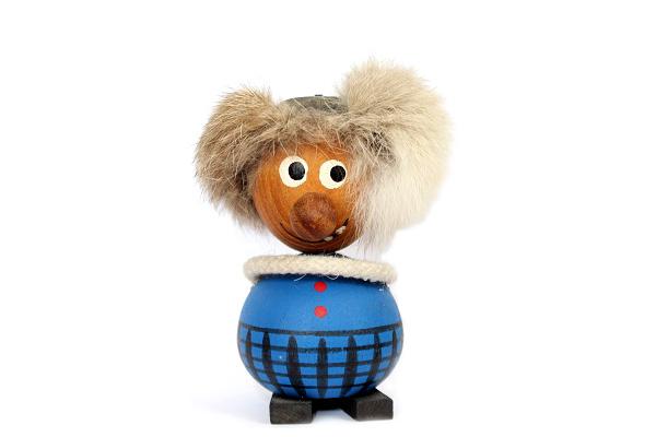 木製 オブジェ        PEIKKO ペイッコ(ブルー)