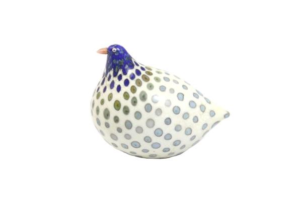 ガラスの鳥 ホワイトブルー系 / No4
