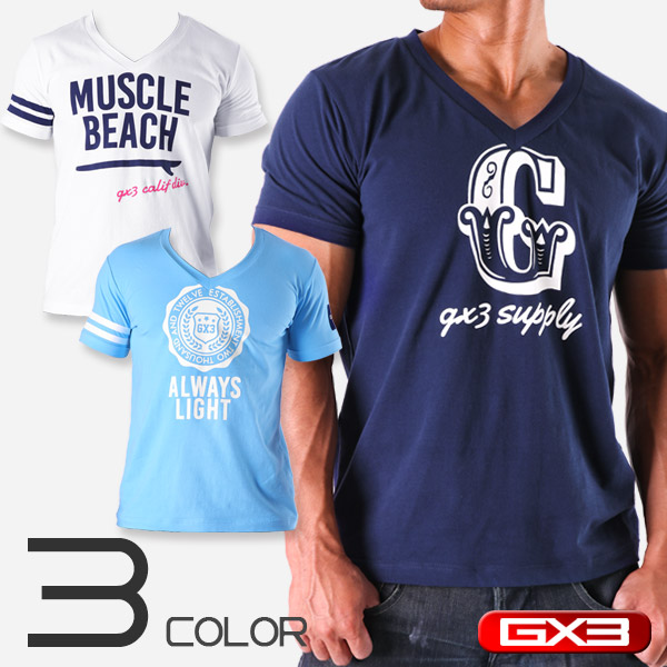 LIMITED EDITION GX3 WEAR V-NECK T-SHIRTS Tシャツ
