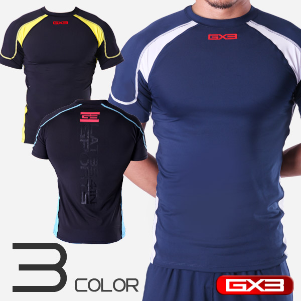 LIMITED EDITION GX3 SPORTS DRY & FIT 2 COMPRESSION T-SHIRT コンプレッション Tシャツ