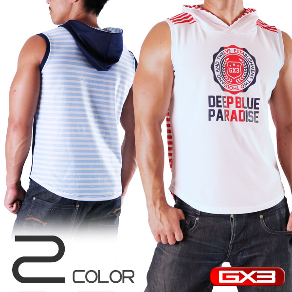 LIMITED EDITION GX3 WEAR DX MARINE HOOD SLEEVELESS ノースリーブ