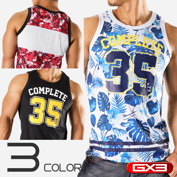 LIMITED EDITION GX3 WEAR COMPLETE TANKTOP タンクトップ