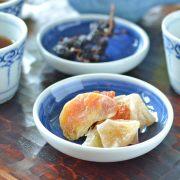 和食器・砥部焼 藍色の小皿(3.5寸)