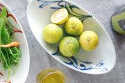 和食器・砥部焼 青からくさの舟皿