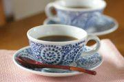 【砥部焼 千山窯】蛸唐草のコーヒーカップ