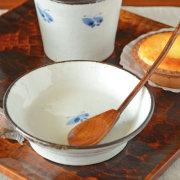 和食器・砥部焼 蝶文の古砥部小皿(3.5寸)