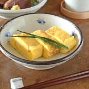 和食器・砥部焼 蝶文の古砥部深皿(5寸)