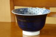 砥部焼・陽貴窯 しょんずい柄の深鉢