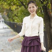 ボウタイプルオーバー 【lucra ルクラ】 2016 tocco closet Collection