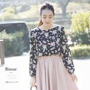 花柄フリルトップス 【rinner リナー】 2016 tocco closet Collection