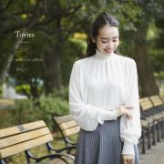 スノーカットシフォンブラウス 【tovies トヴィース】 2016 tocco closet Collection