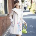 旬顔ビジュー×刺繍バイカラーフードガウン 【drisy ドリシー】 2017 tocco closet(トッコクローゼット) Collection