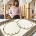 パールいっぱいネックレス 【necklace】 A Wonderful Time カタログ 垣内彩未さんはシルバーを着用